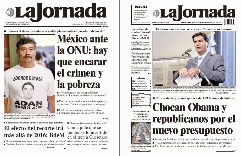 Noticias guerrer s sme peri dicos la jornada m xico ante for Noticias del espectaculo mexicano recientes