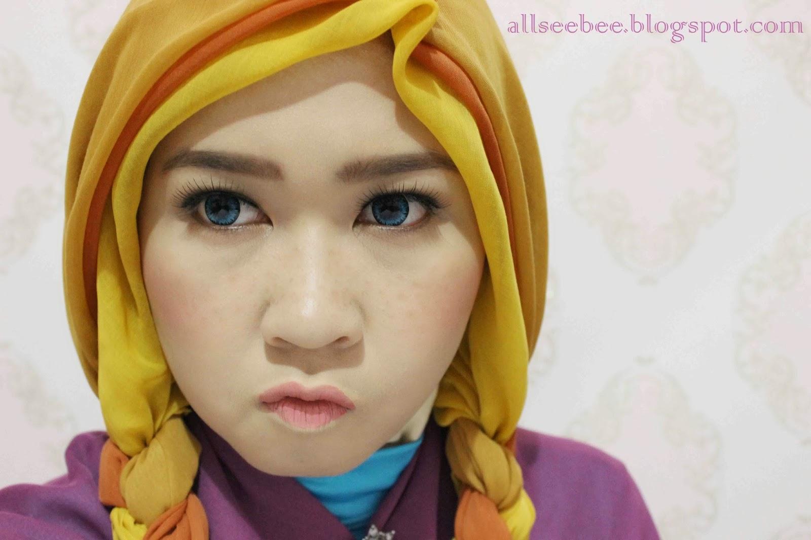 Disney frozen anna makeup tutorial baditri Image collections