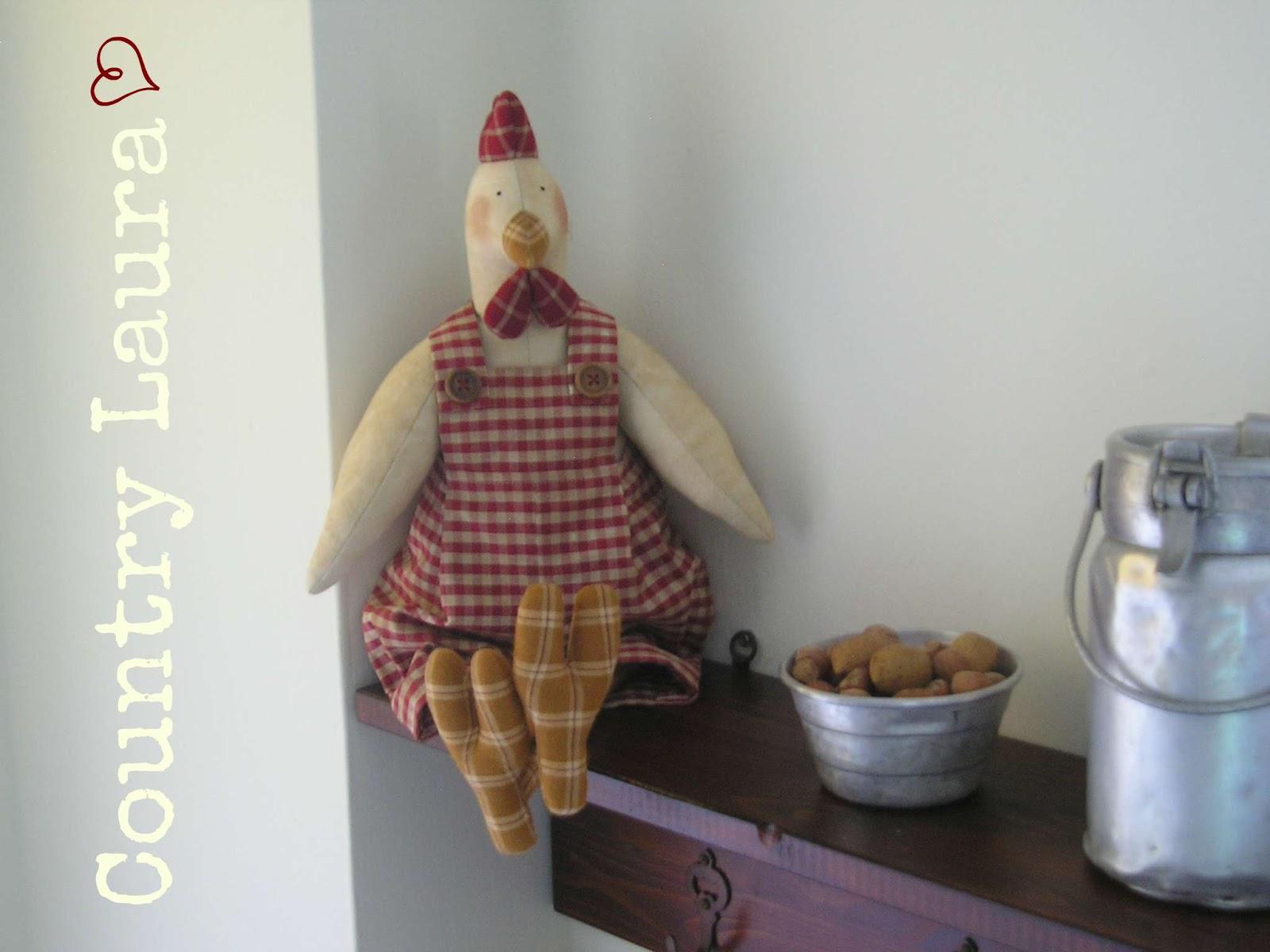 Country laura ed ecco le mensole della mia cucina - Mensole cucina country ...
