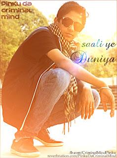 Saali Yeh Duniya free mp3 download full rap by Pinku Da CrImInal Mind