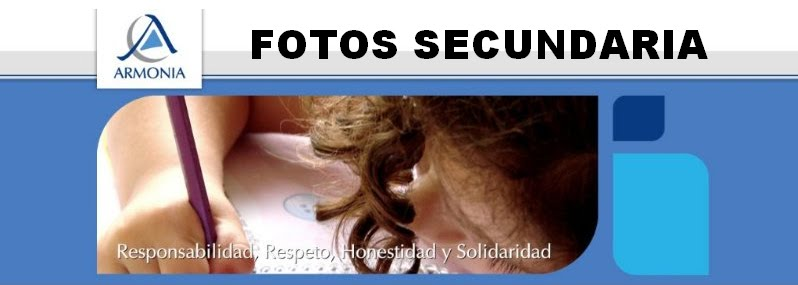 FOTOS SECUNDARIA