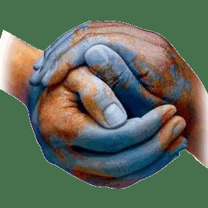 mãos dadas mundo melhor