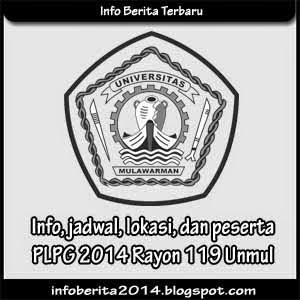 Info, jadwal, lokasi, peserta PLPG 2014 Rayon 119 Unmul