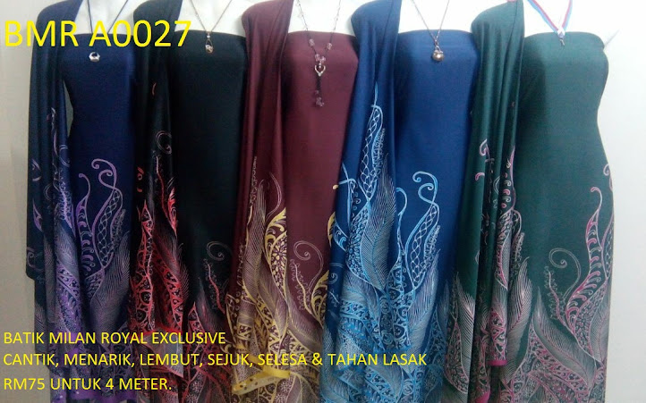 BMR A 0027:  BATIK MILAN ROYAL EXCLUSIVE