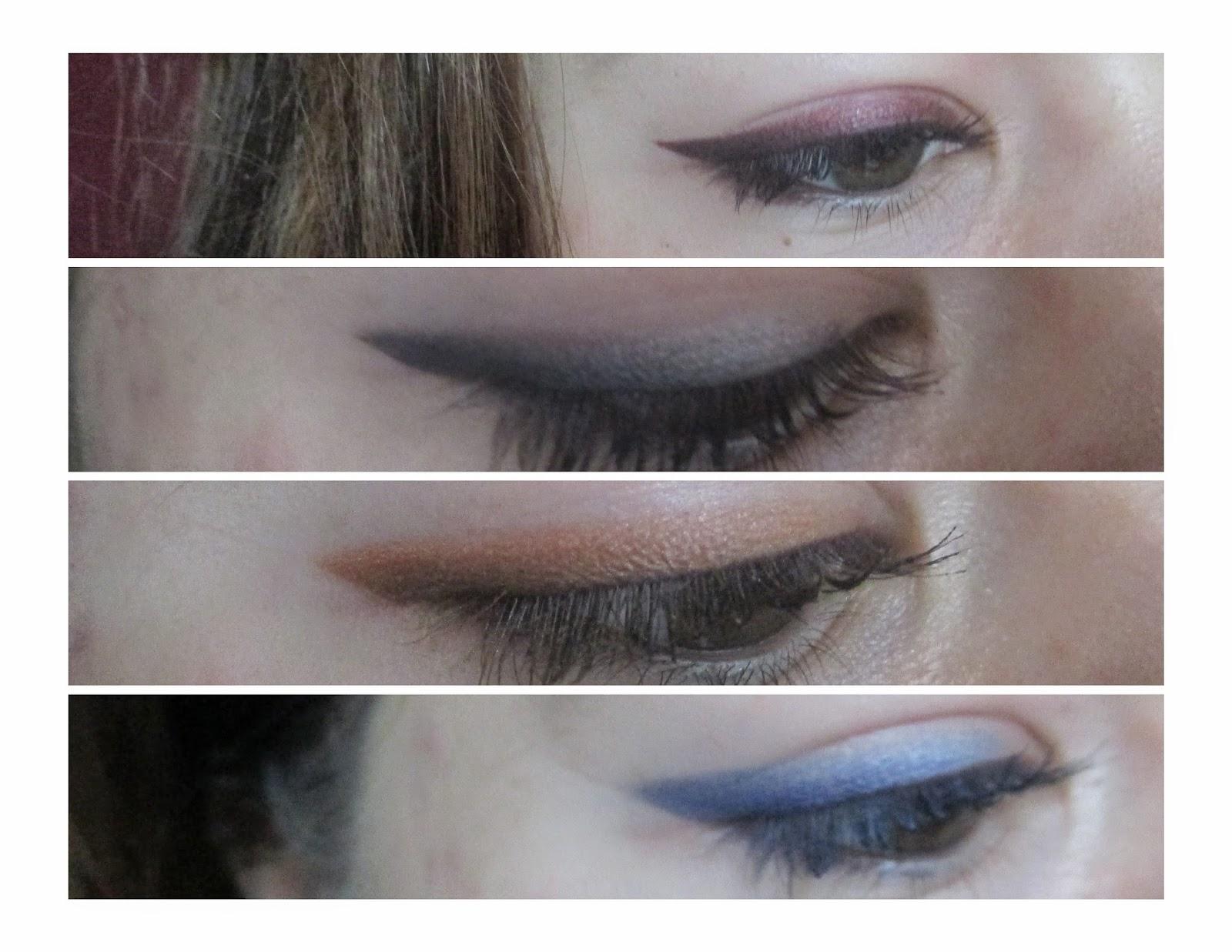 Ombrè Cat Eye - Makeup