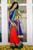 Santoshi sharma half saree pics-thumbnail-4