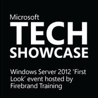Tech Showcase Windows Sever 2012