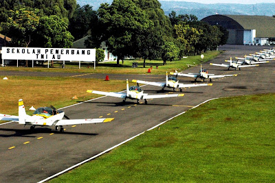 Armada Pesawat Grob G120 TP-A TNI AU. Prokimal Online Kotabumi Lampung Utara
