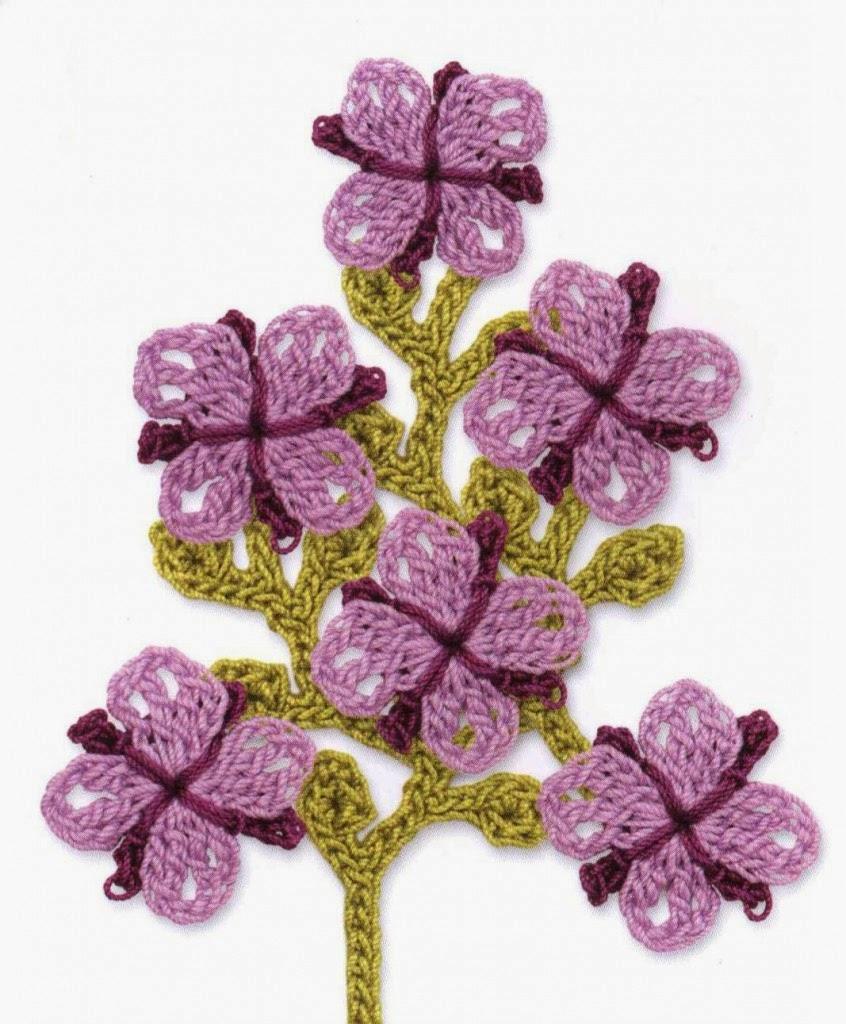 Симпатичный цветочный мотив