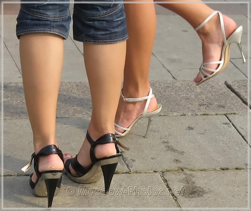 Elegant summer stilettos