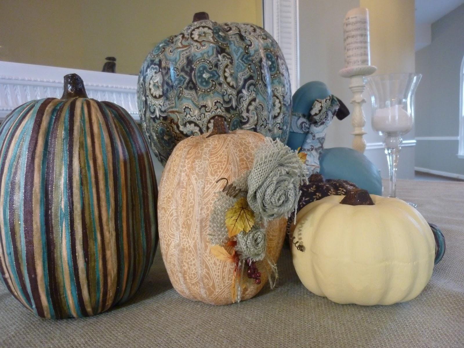 Make And Do Girly Pumpkins For Fall