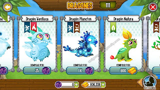 imagen del dragon plancton en dragon city ios