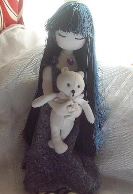 Моя самая первая куколка по мотивам рисунка Сьюзен Вулкотт