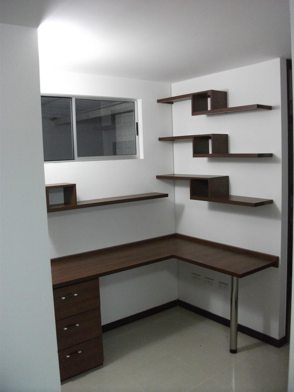 Dise o de muebles para tu hogar y oficina en cali dise o for Muebles de estudio modernos