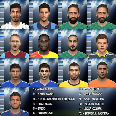 PES 2016 Facepack V2 By MortalResist-İdiz