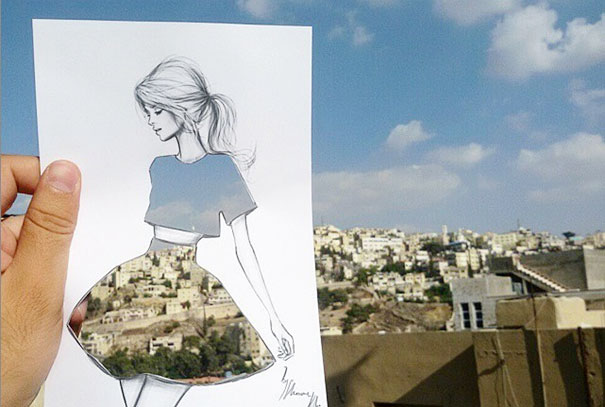 03-Shamekh-Al-Bluwi-Drawings-with-Architectural-Backgrounds-www-designstack-co