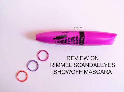 REVIEW: Rimmel Scandaleyes Show Off Mascara image