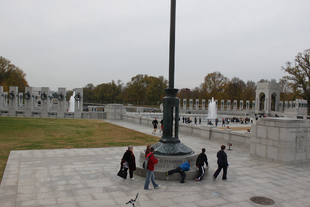 National World War II Memorial at Washington DC, USA