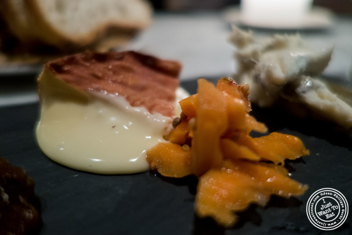 image of Époisses from France at Murray's Cheese Bar in the West Village, NYC, New York
