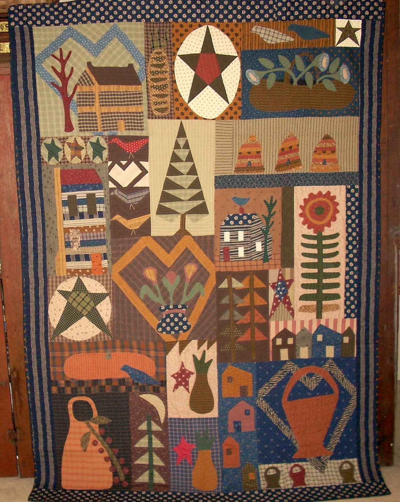 Needle Turnings: older primitive quilts I have made....... : primitive quilting - Adamdwight.com