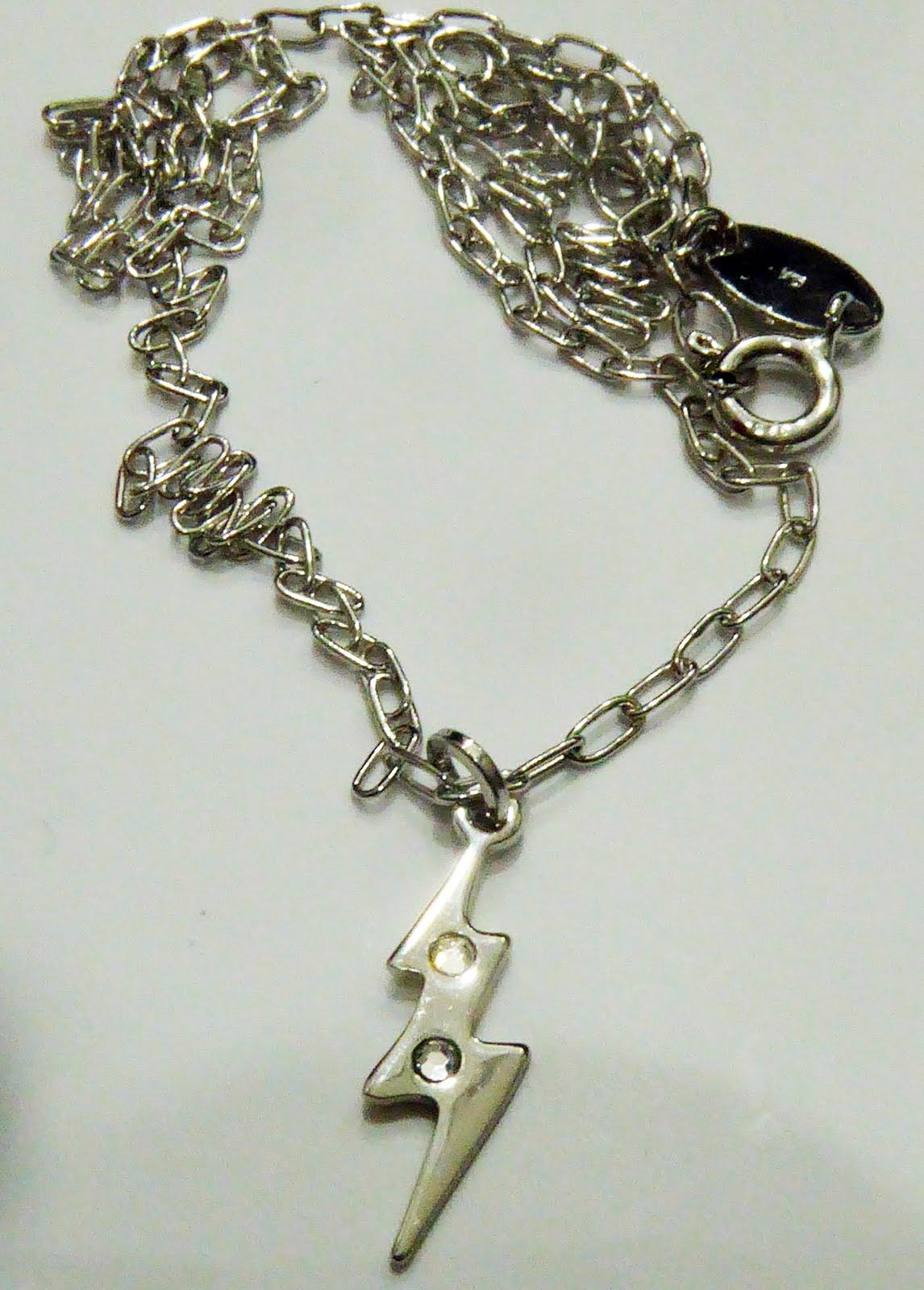Gargantilla Rayo Neutral, plata