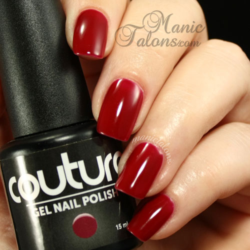 Couture Gel Polish Velvet Rope Swatch