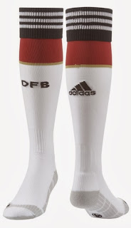 Kaos Kaki Grade Ori Germany 2014 FIFA World Cup Home Football Socks