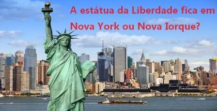 nova york ou nova iorque