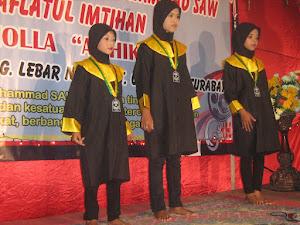 TPQ AL-HIKMAH Jl.Tambak Pering Barat Gg.Lebat Sby. MENGADAKAN KHATAMAN M.Al-Insyirah