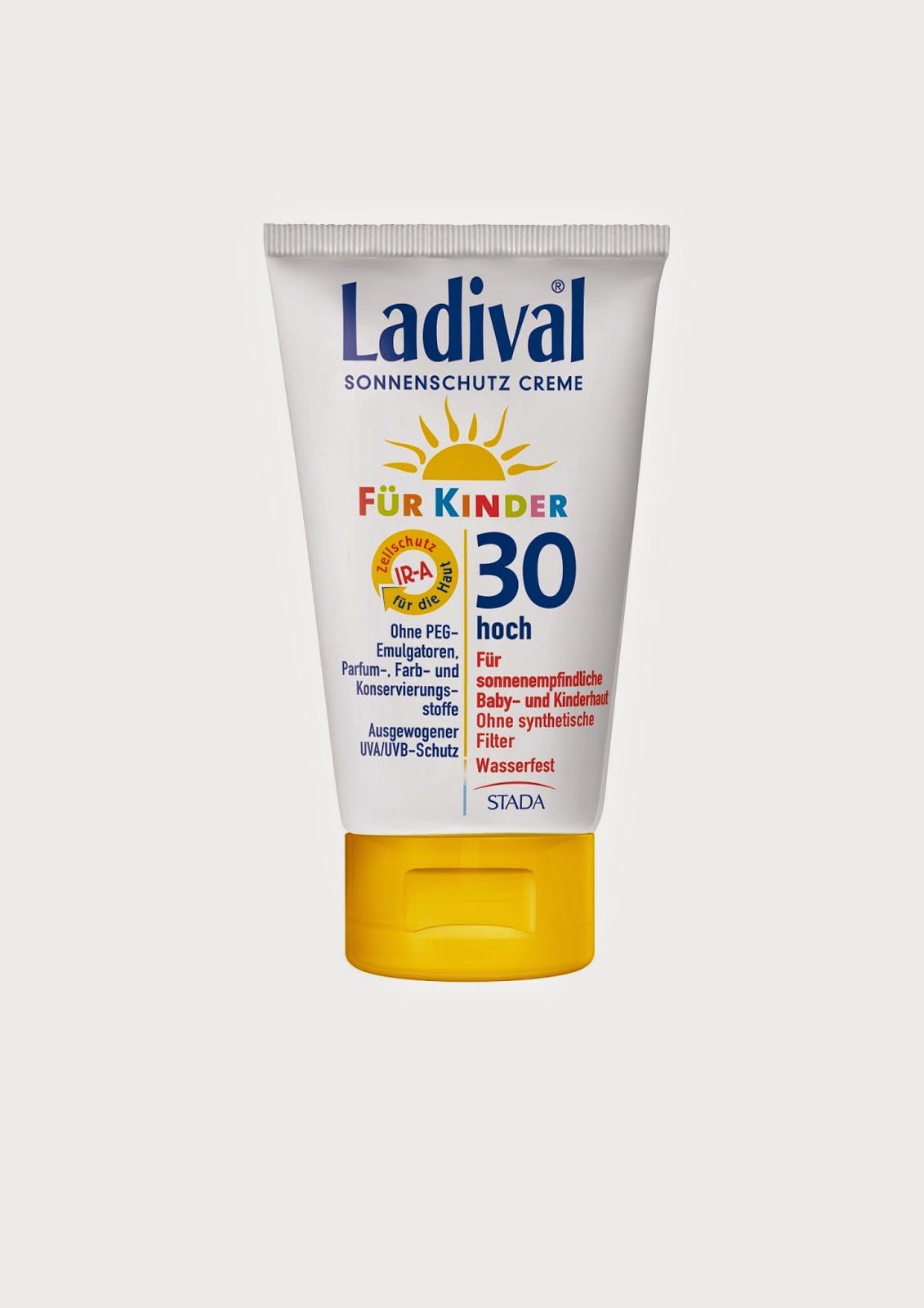 Ladival Sonnencreme für Kinder Runzelfüßchen