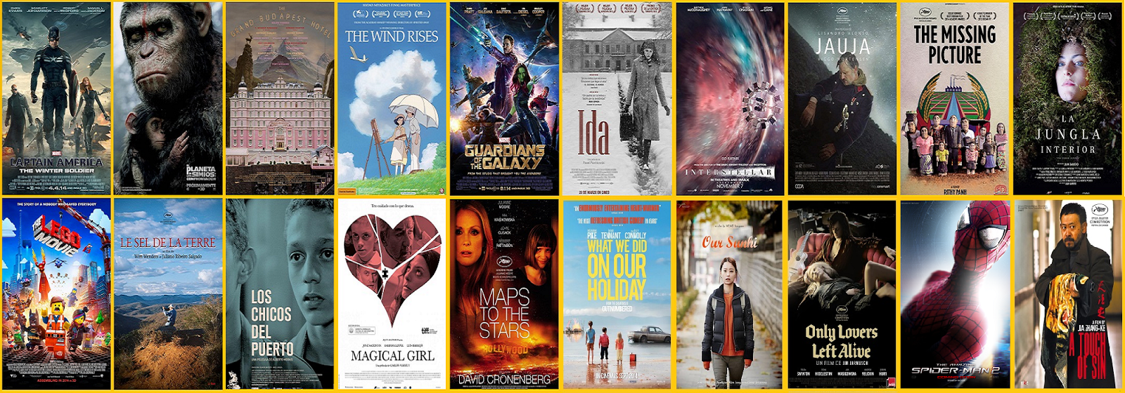 best movies of 2014