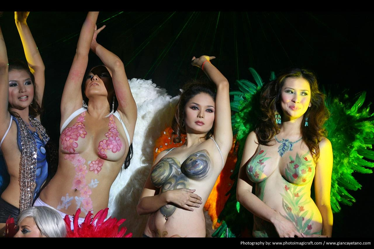 viva hot babes naked body paint 01