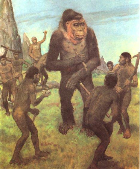 Gigantopithecus 3. Gigantopithecus