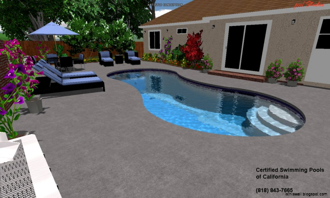 3d swimming pool design this wallpapers for 3d pool design