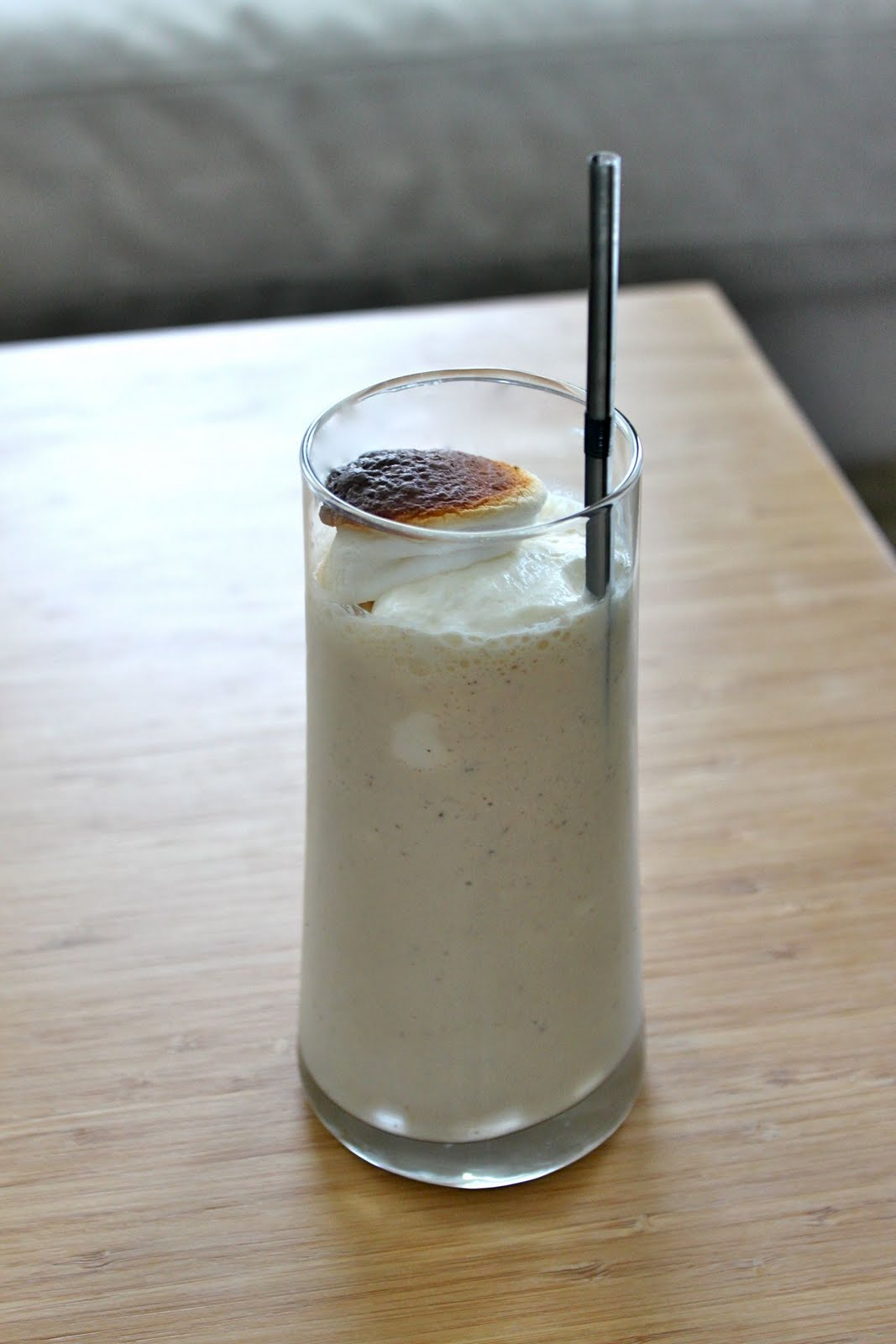 Baked Perfection: Toasted Marshmallow Milkshake