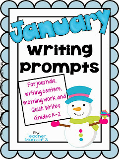 http://www.teacherspayteachers.com/Product/Writing-Prompts-for-January-For-journals-and-writing-centers-1036007
