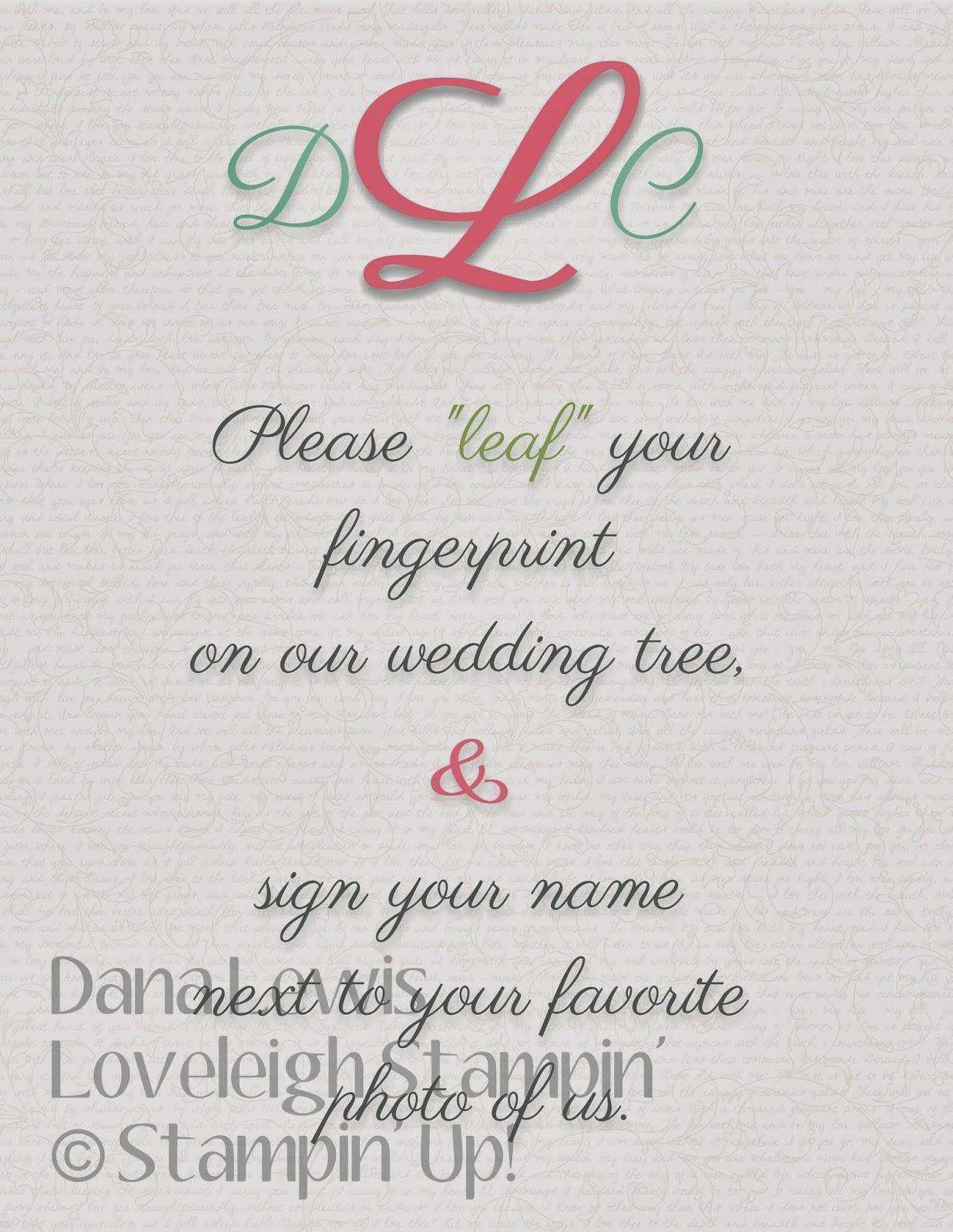 Loveleigh stampin wedding series day 4 guest book wedding series day 4 guest book sciox Gallery