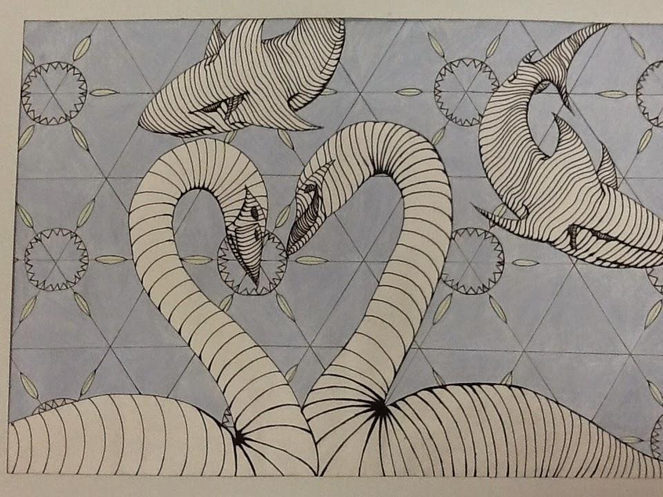 Contour Line Drawing Face : Less talk more art: a middle school art ed blog: cross contour animals
