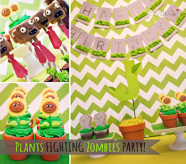 {REAL PARTIES} Plants Fighting Zombies