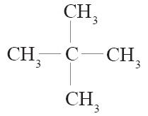 neopentana atau 2,2–dimetilpropana