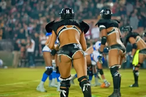 Olahraga Para Wanita Cantik Ekstrim