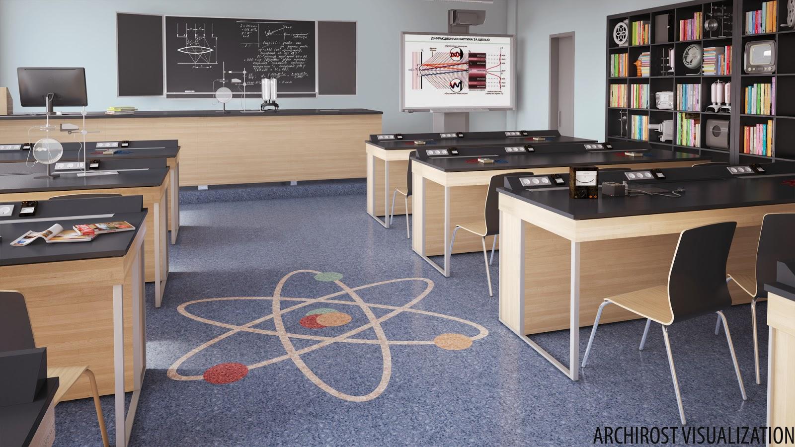 Дизайн кабинета физики в школе фото