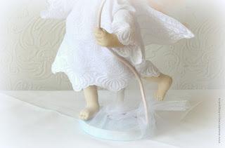 Текстильная кукла. Примитив. Ангел. Ноги.