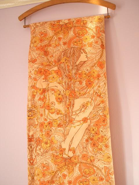 vintage Sanderson Cobweb fabric