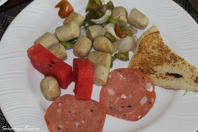 Chicken Sausage Pork Salami