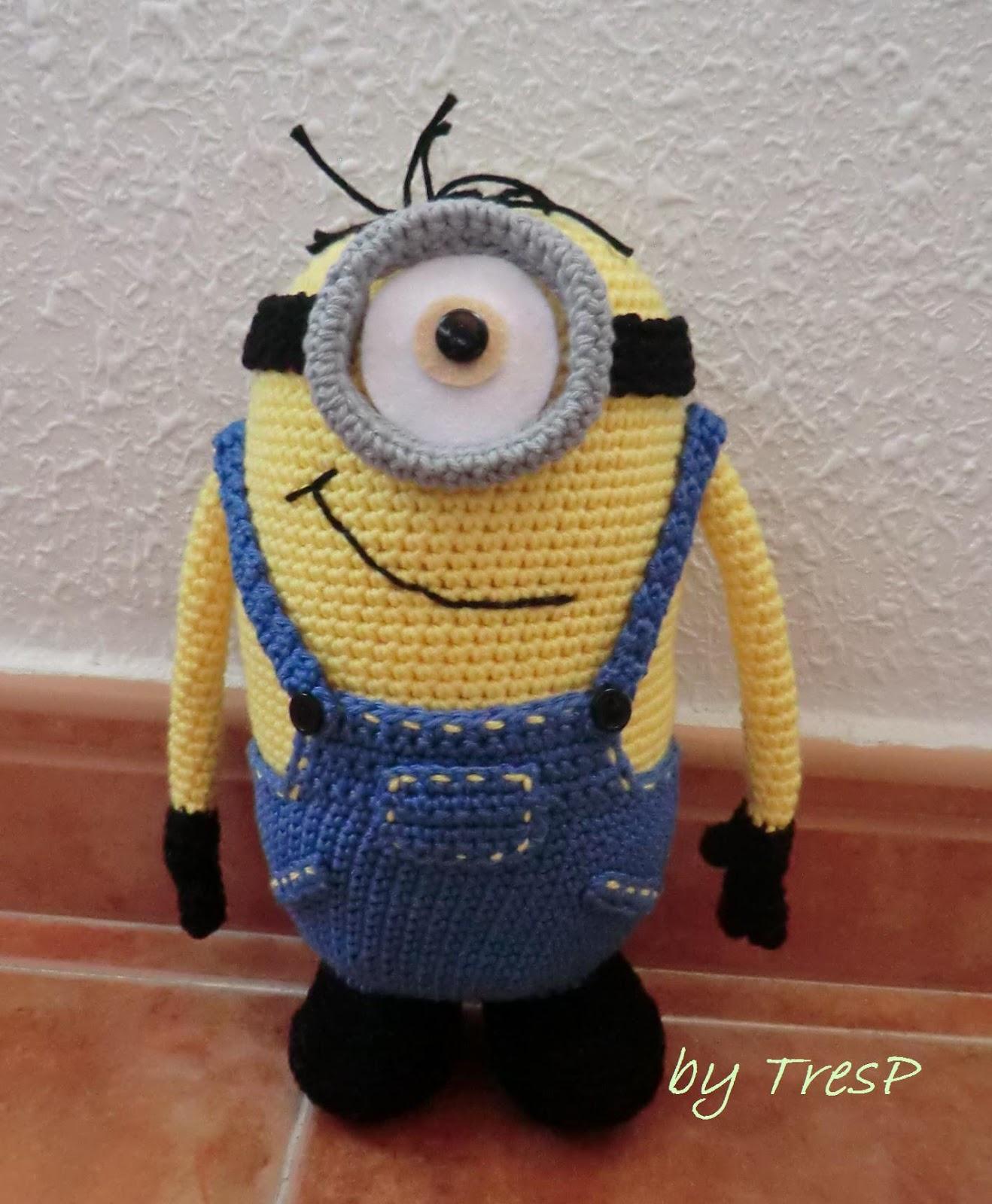 TresP craft blog: MINION AMIGURUMI (Pon un Minion en tu ...