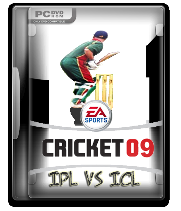 Cricket 09 IPL VS ICL Game Free