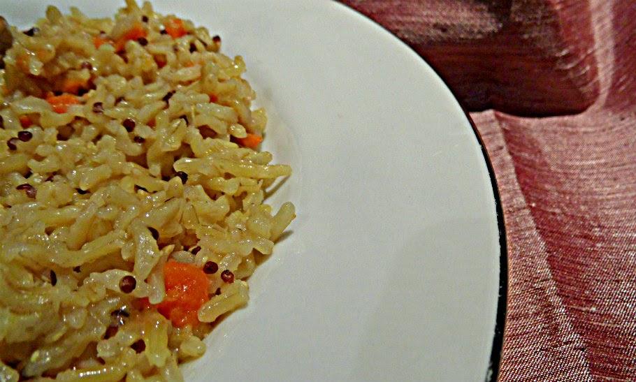basmati, quinoa, super foods