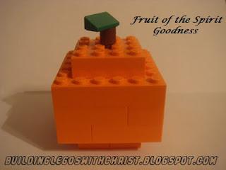 LEGO Fruit Creations, Fruit of the Spirit, Biblical LEGO, Christian LEGO