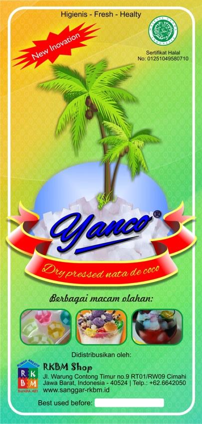 Yanco - Dry pressed nata de coco